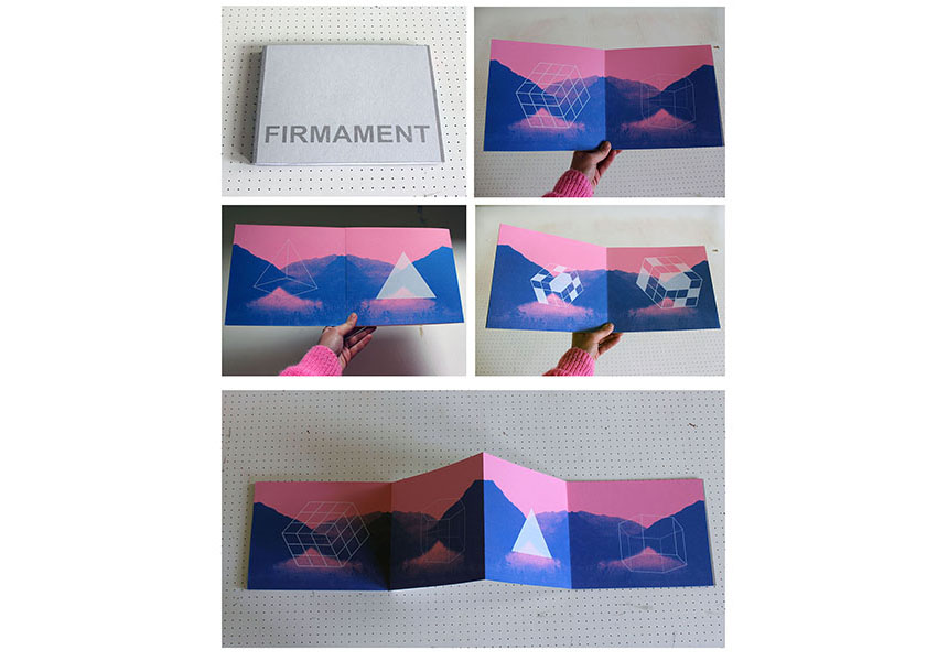 'Firmament' book project / Silkscreen Print