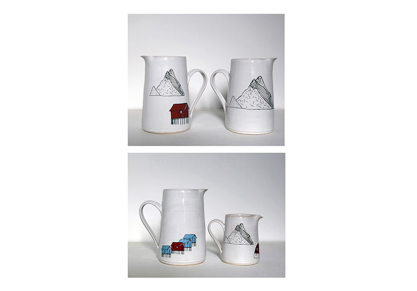 'Arctic Series' Ard Bia Pottery