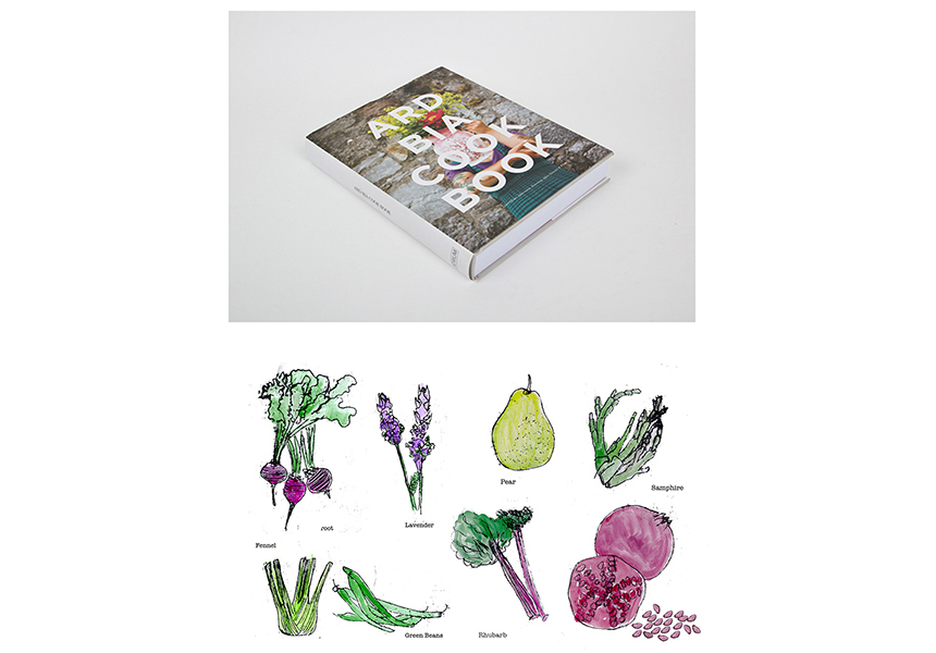 Ard Bia cookbook illustrations