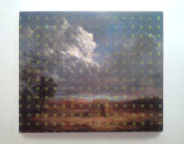 Dutch Sky study oil & enamel on canvas (25.5cm x 30.5cm).jpg