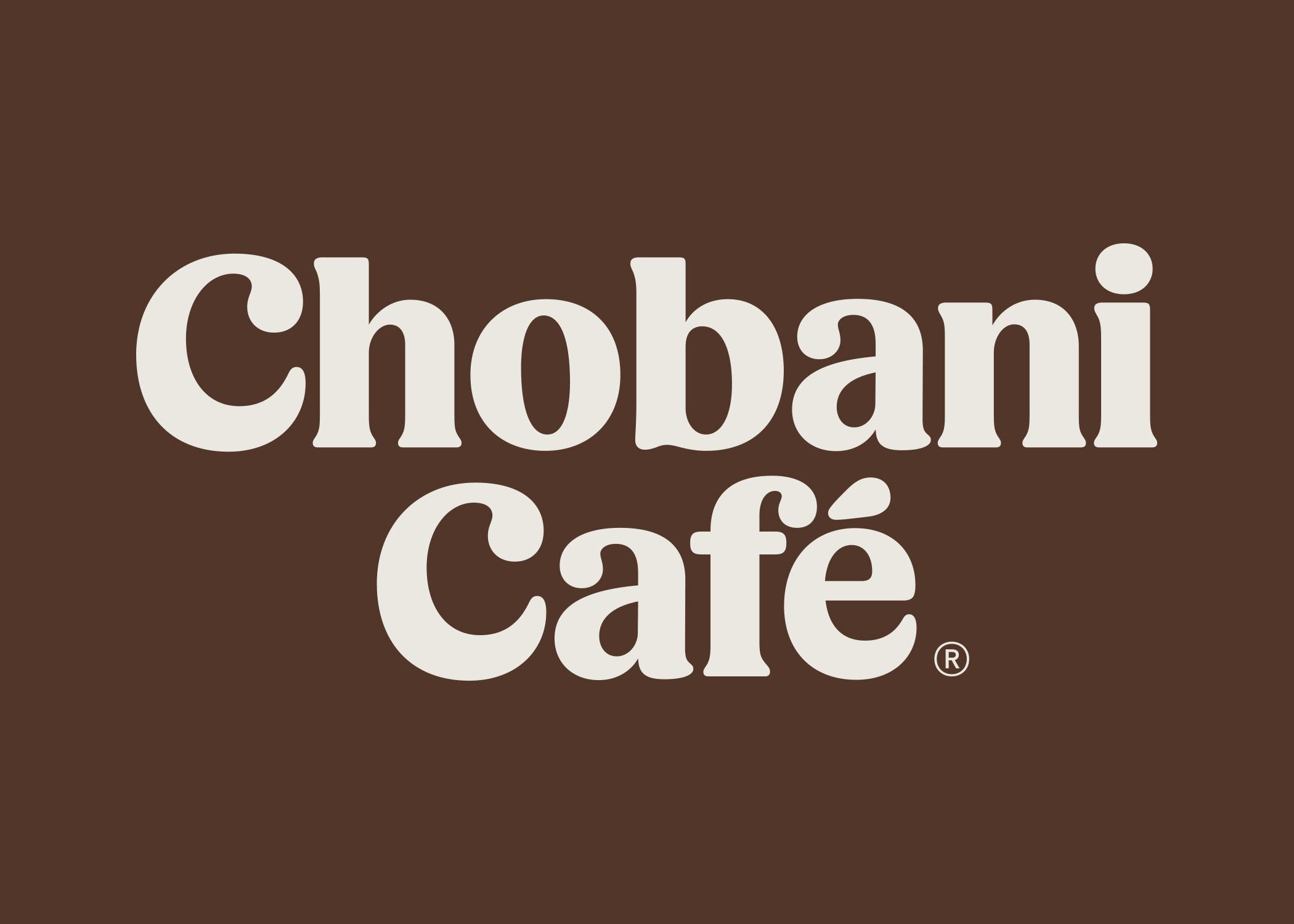 Chobani Café Wordmark