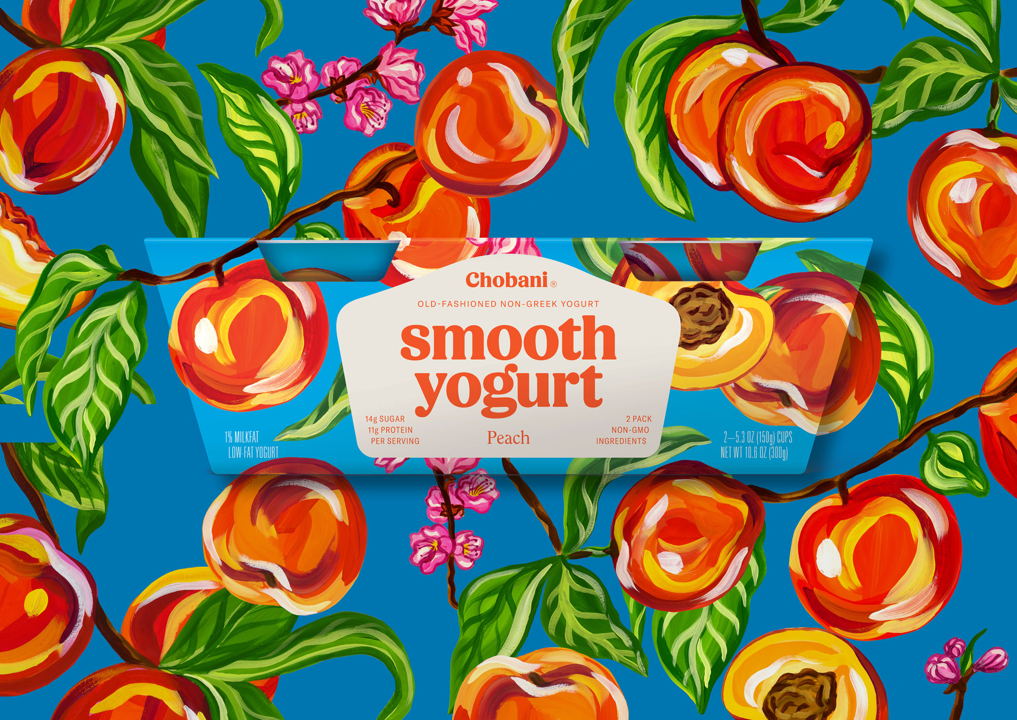 Chobani® Smooth Peach (two-pack)