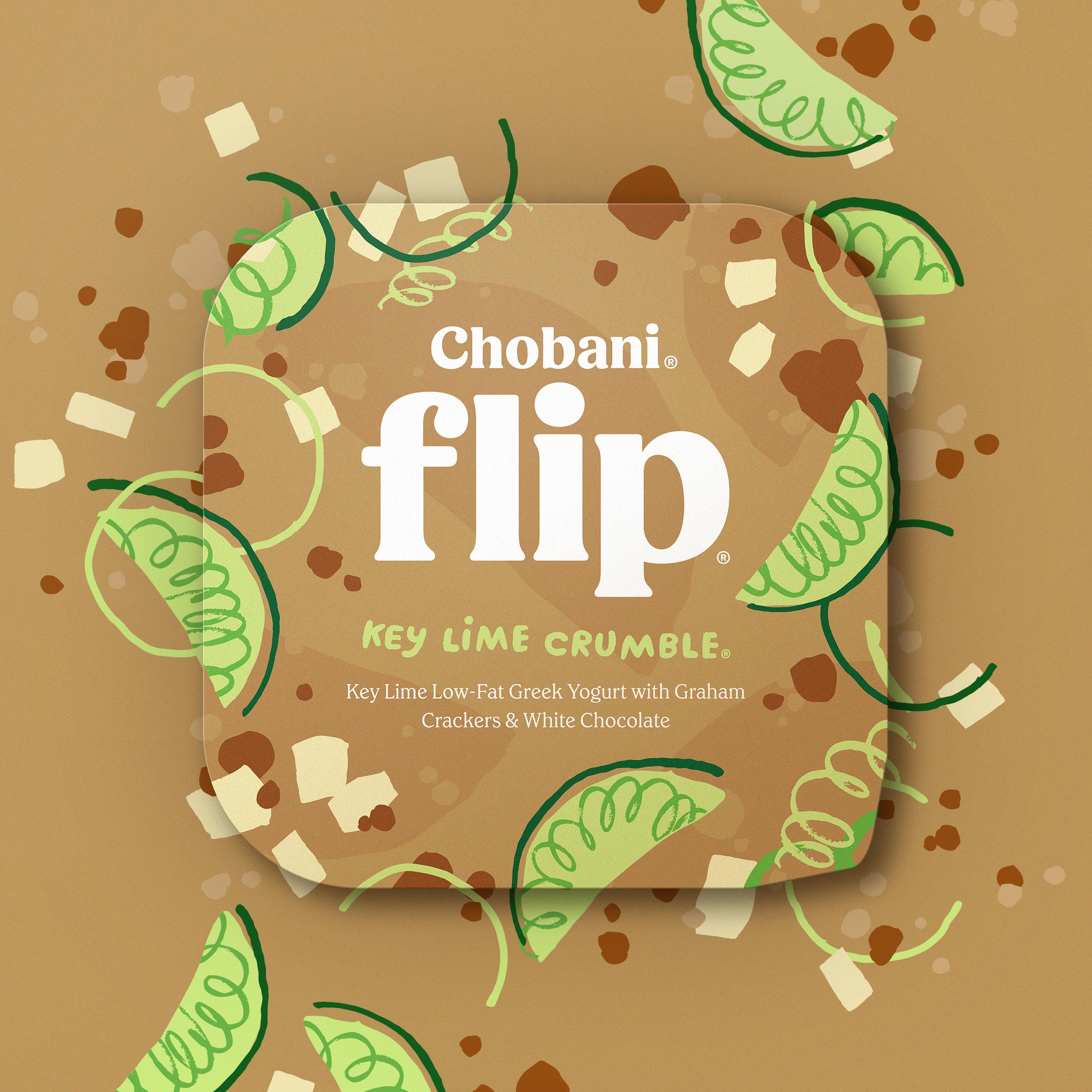 Chobani® Flip® Key Lime Crumble (Nostalgia)