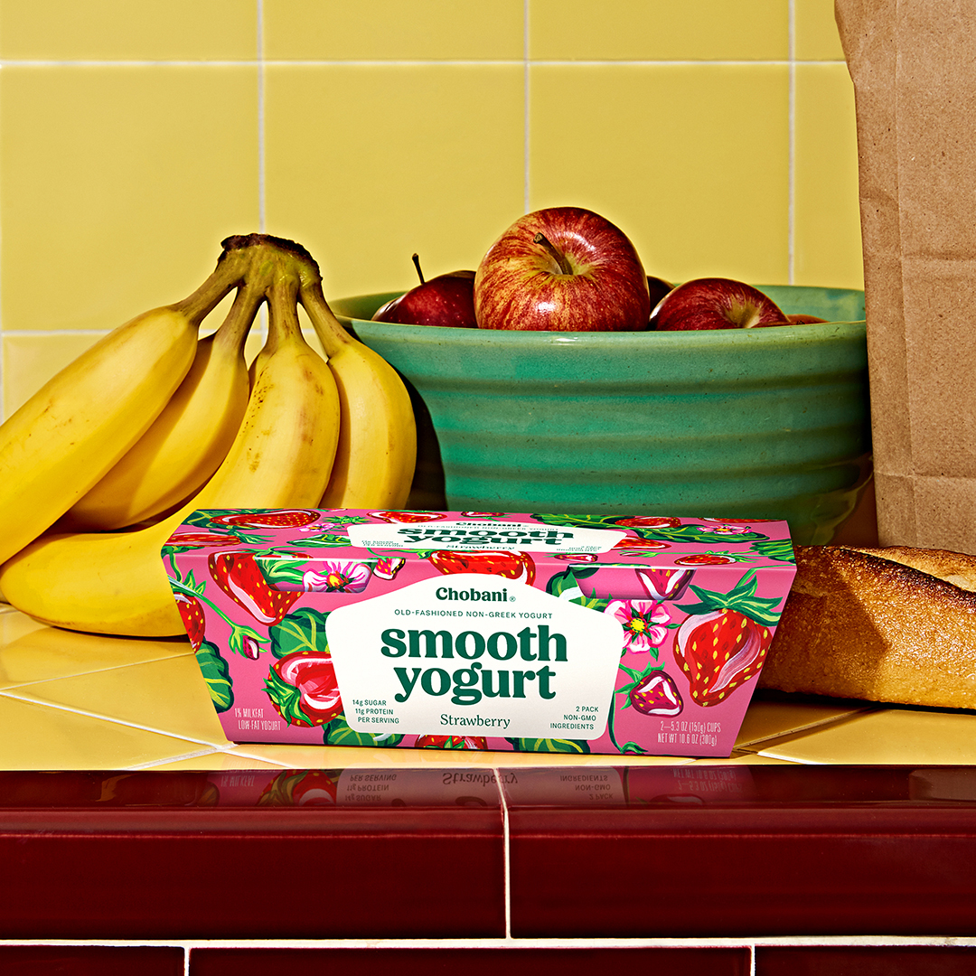 Chobani® Smooth Strawberry (two pack)