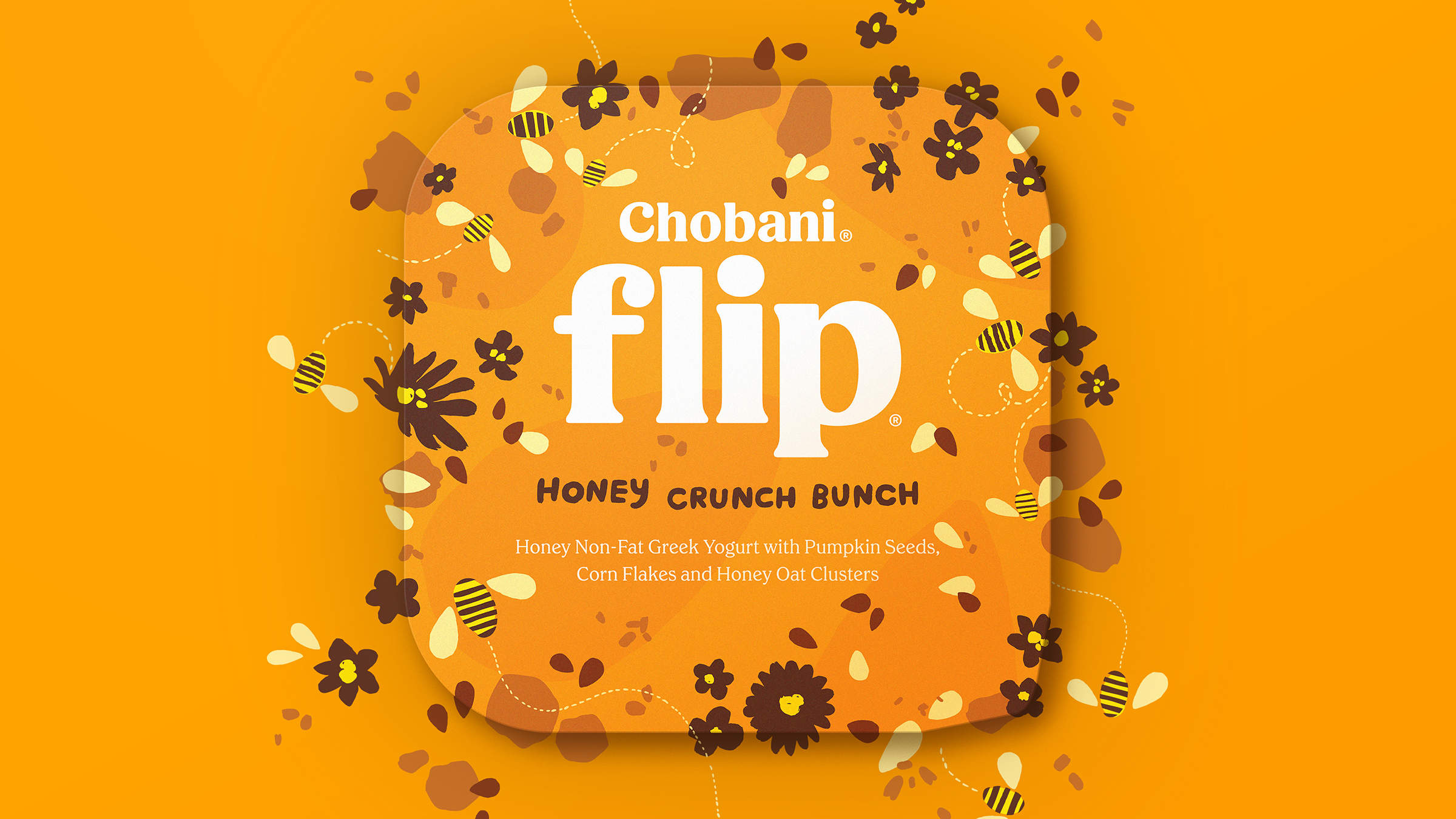 Chobani® Flip® Honey Crunch Bunch (Morning)