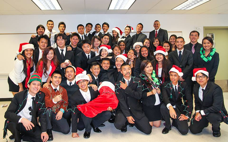 Happy Holidays from Rho Chi!