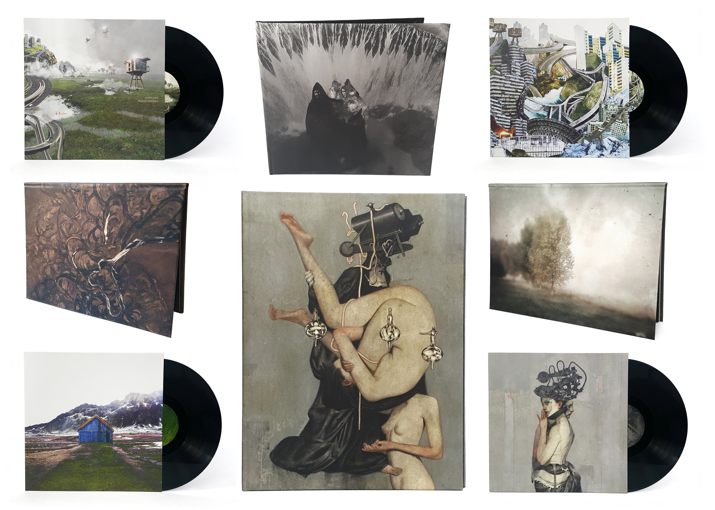 VINYL & CD BUNDLE - 4 VINYL, 4 CDS, 1 DL (25% OFF)