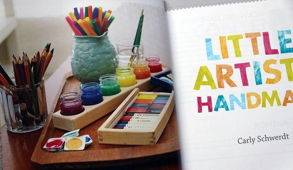 Little Artists Handmade  by Carly Schwerdt (Penguin 2011)