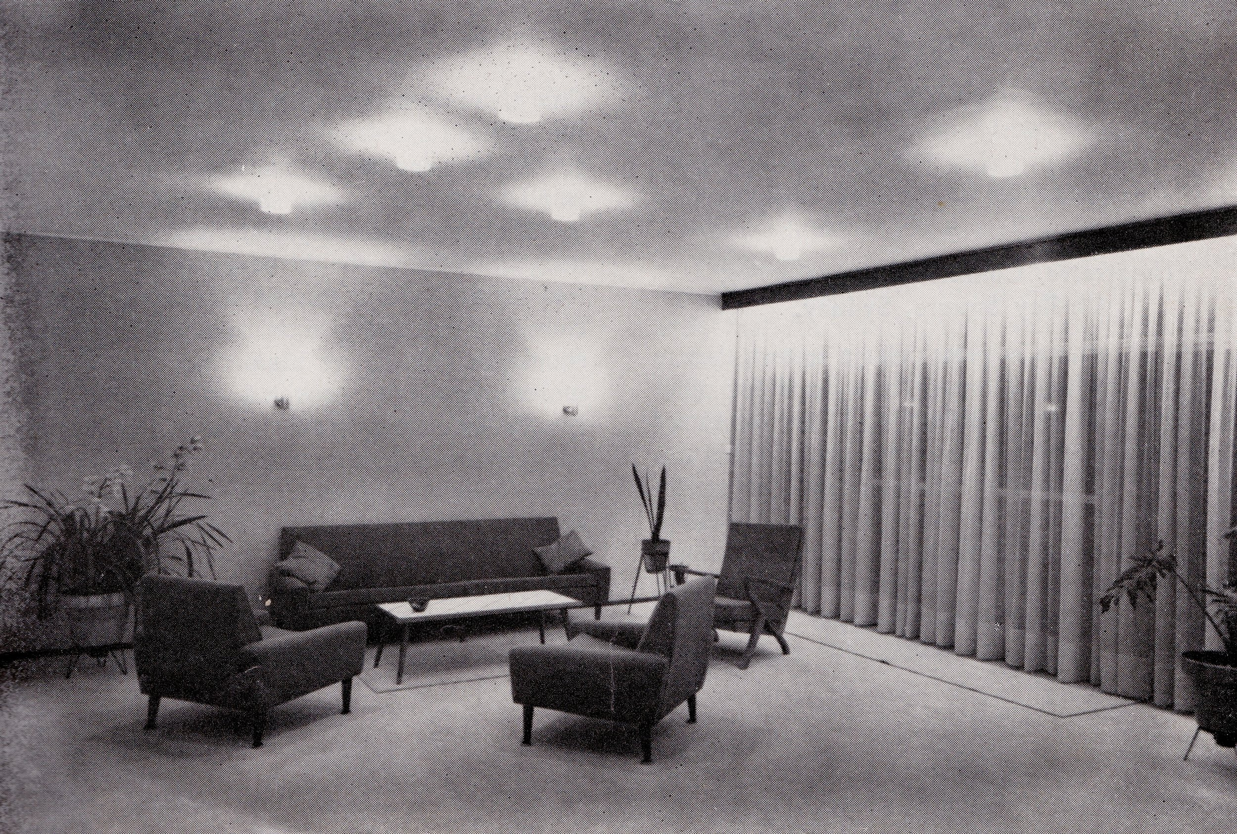 Residence of Mr and Mrs P. Moddel. Designed by Henry Rossler 1965.