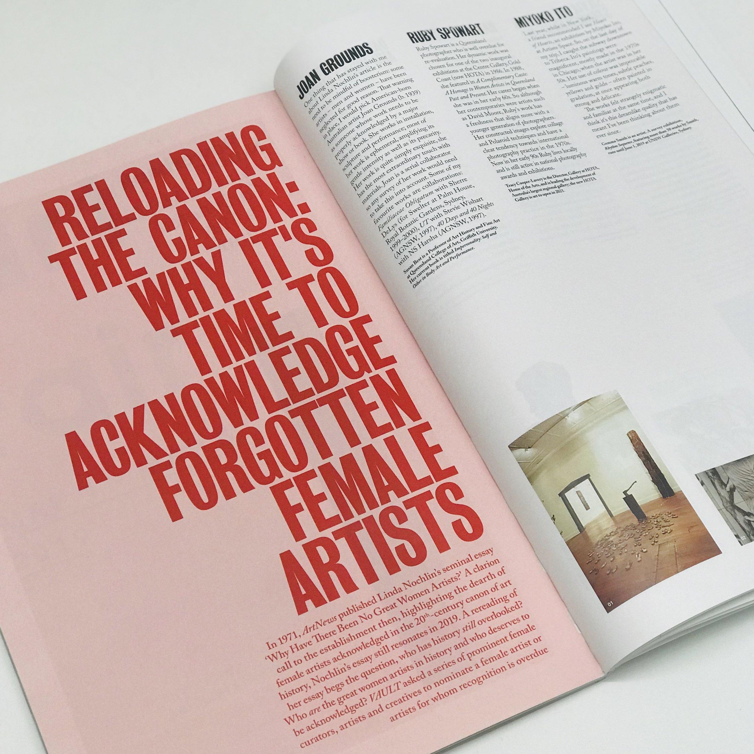 VAULT ISSUE 26 2019
