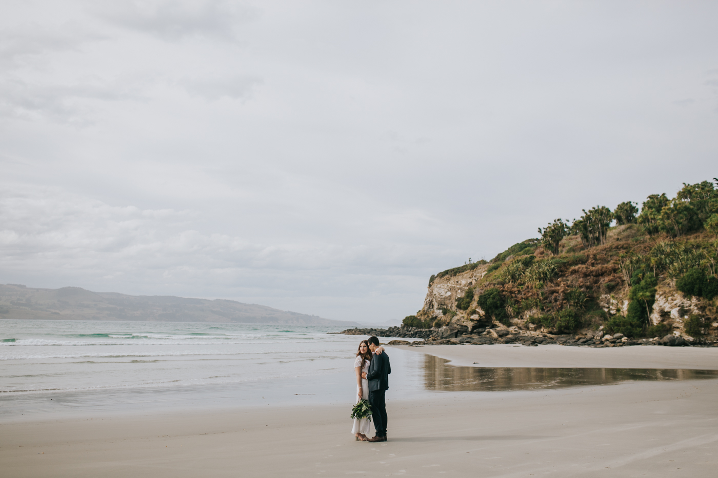Ariana & Tim - Dunedin, New Zealand Wedding - Destination Wedding - Samantha Heather Photography-164.jpg
