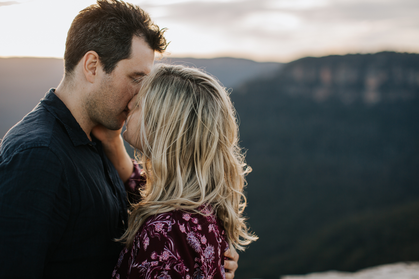 Emma & Ben - Blue Mountain Sunset Engagement - Samantha Heather Photography-64.jpg