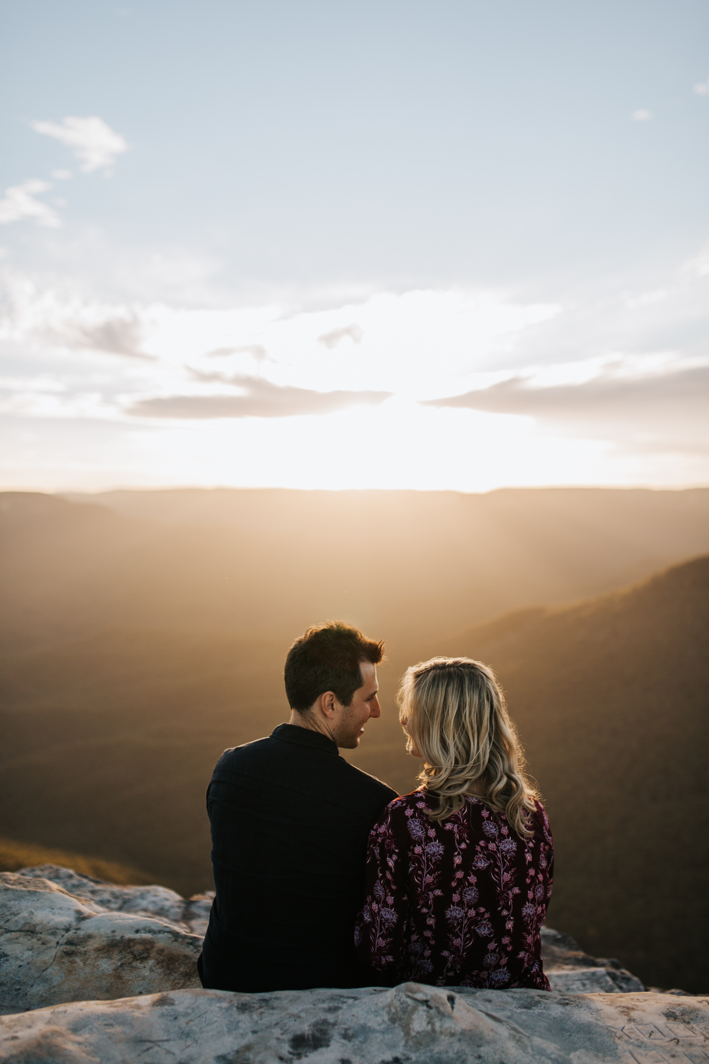 Emma & Ben - Blue Mountain Sunset Engagement - Samantha Heather Photography-71.jpg