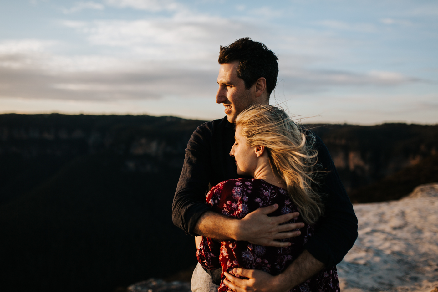 Emma & Ben - Blue Mountain Sunset Engagement - Samantha Heather Photography-91.jpg