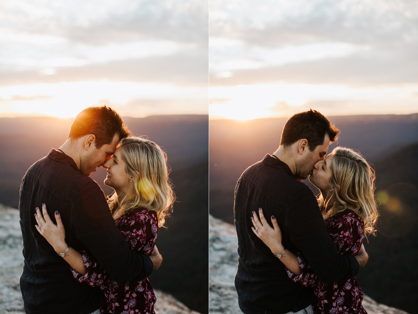 Emma & Ben - Blue Mountain Sunset Engagement - Samantha Heather Photography-104.jpg