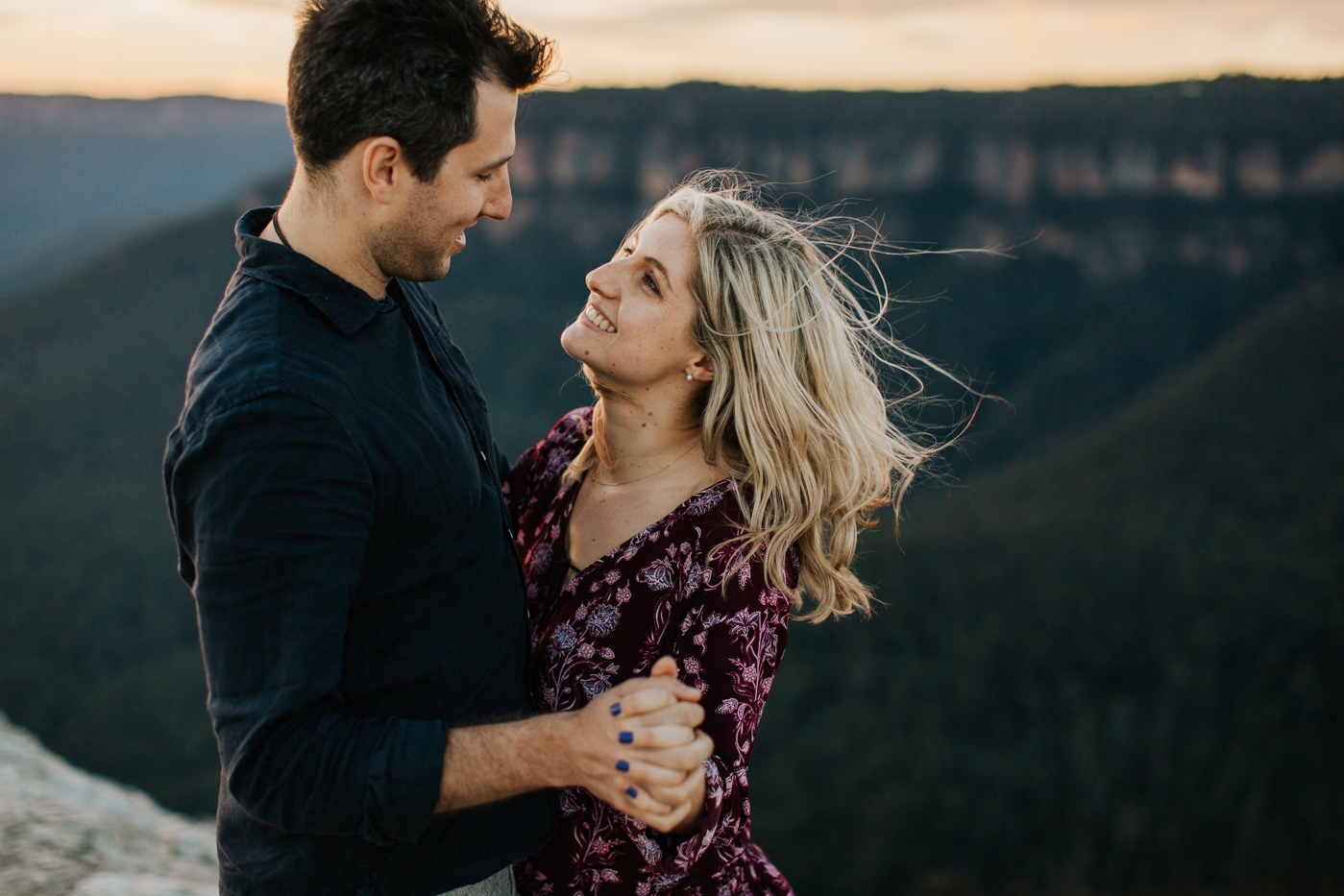 Emma & Ben - Blue Mountain Sunset Engagement - Samantha Heather Photography-112.jpg