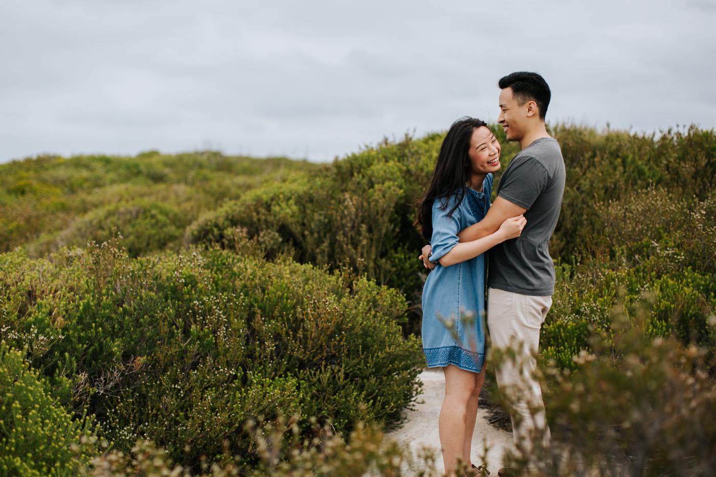 Lishien & Jason Engagement - Kurnell Cliffs - Samantha Heather Photography-3.jpg