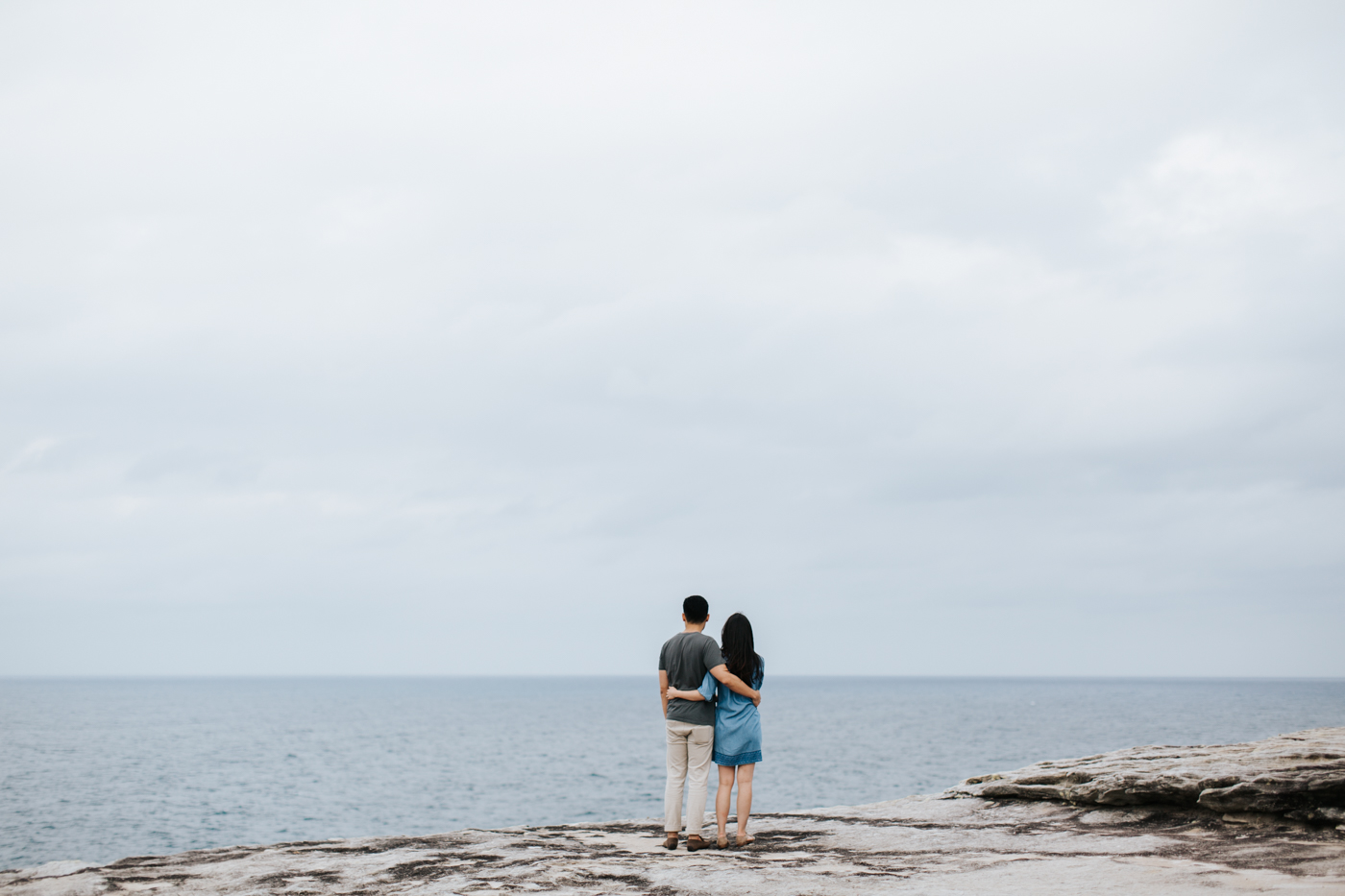 Lishien & Jason Engagement - Kurnell Cliffs - Samantha Heather Photography-15.jpg