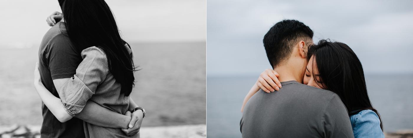 Lishien & Jason Engagement - Kurnell Cliffs - Samantha Heather Photography-19.jpg