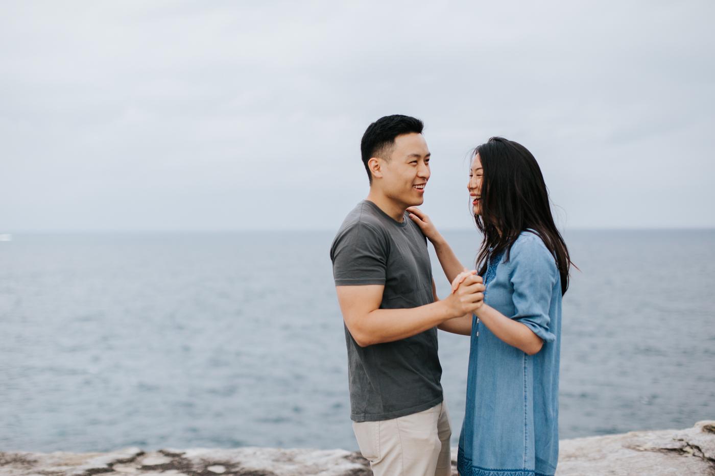 Lishien & Jason Engagement - Kurnell Cliffs - Samantha Heather Photography-18.jpg