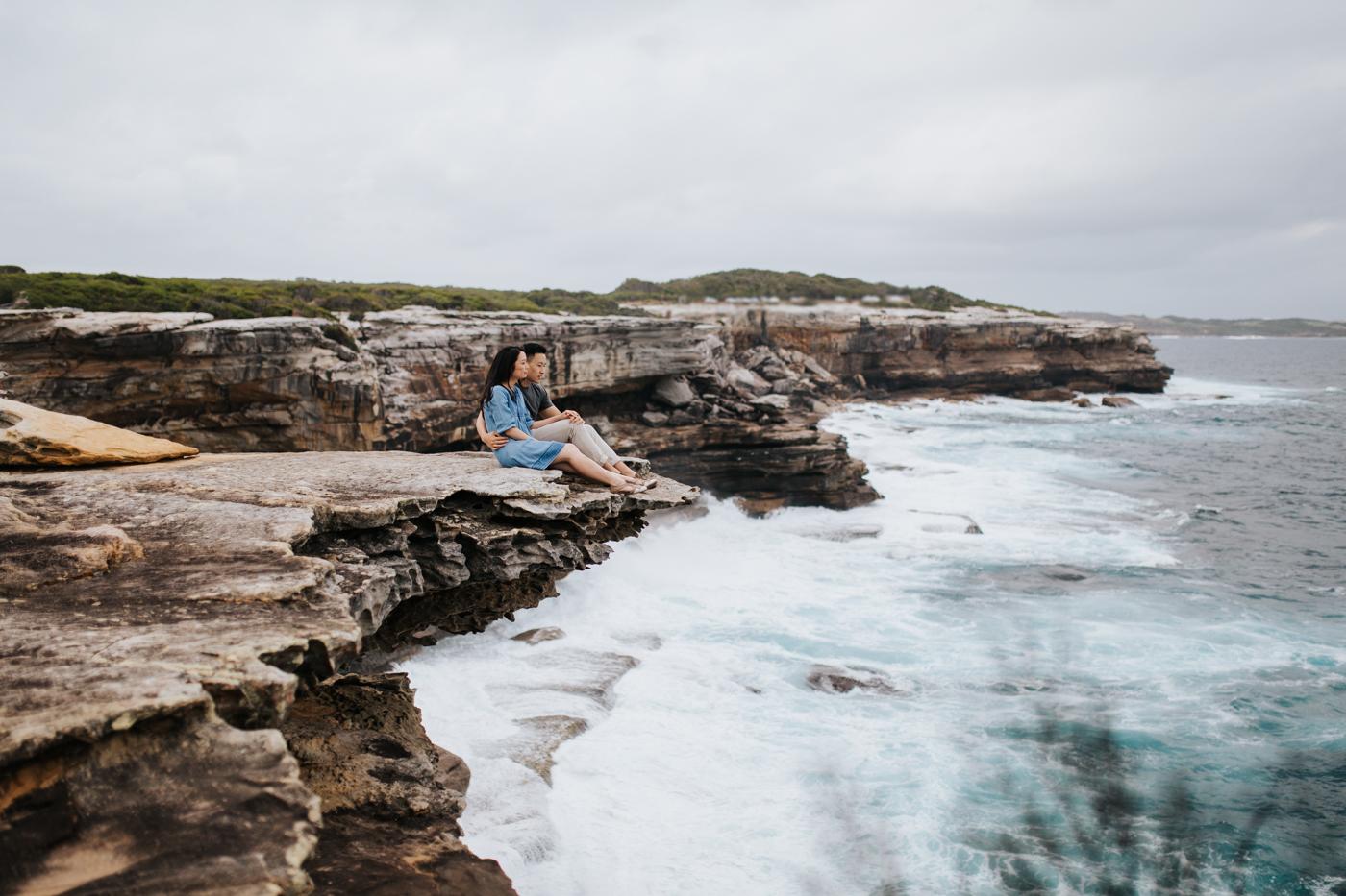 Lishien & Jason Engagement - Kurnell Cliffs - Samantha Heather Photography-22.jpg