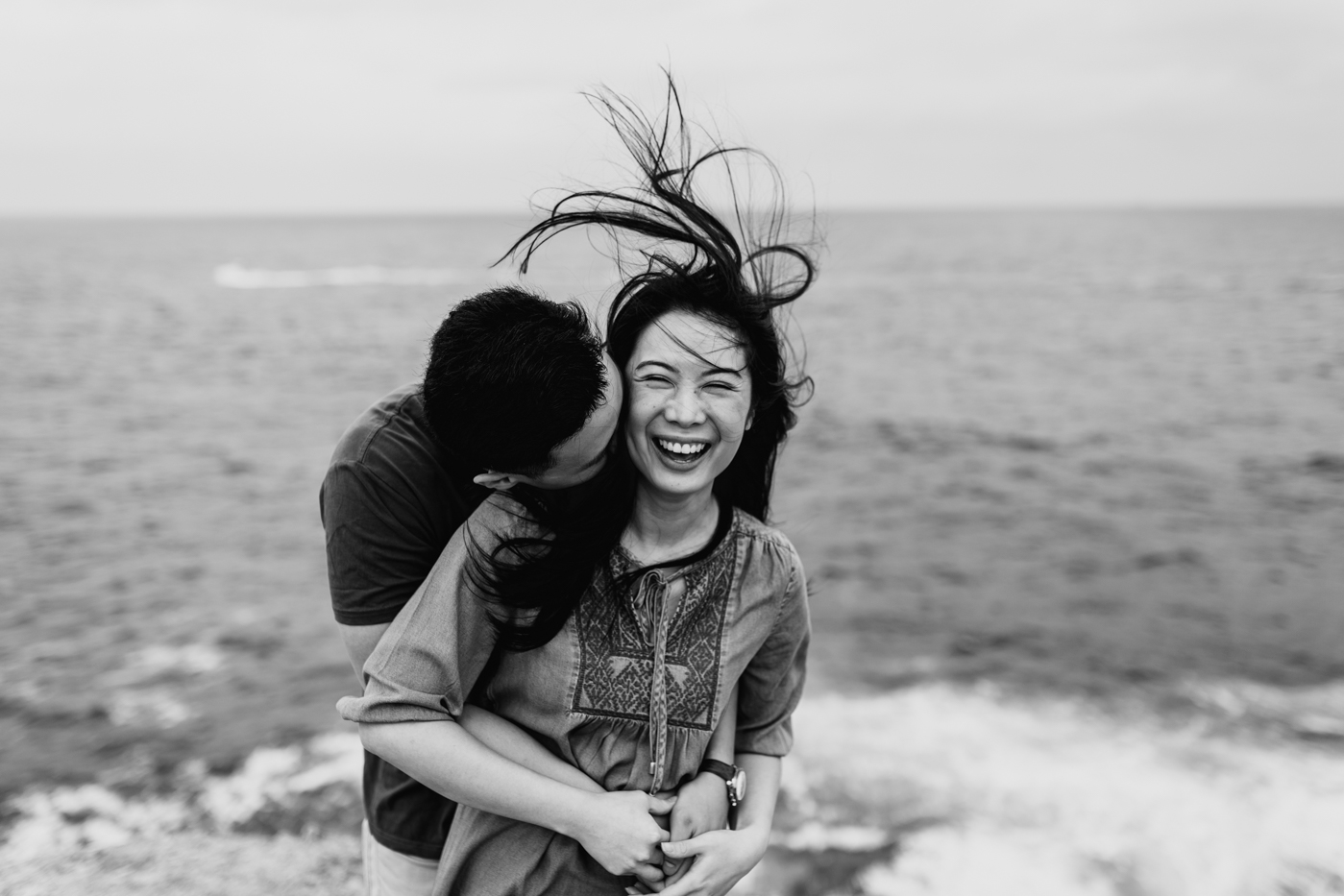 Lishien & Jason Engagement - Kurnell Cliffs - Samantha Heather Photography-29.jpg
