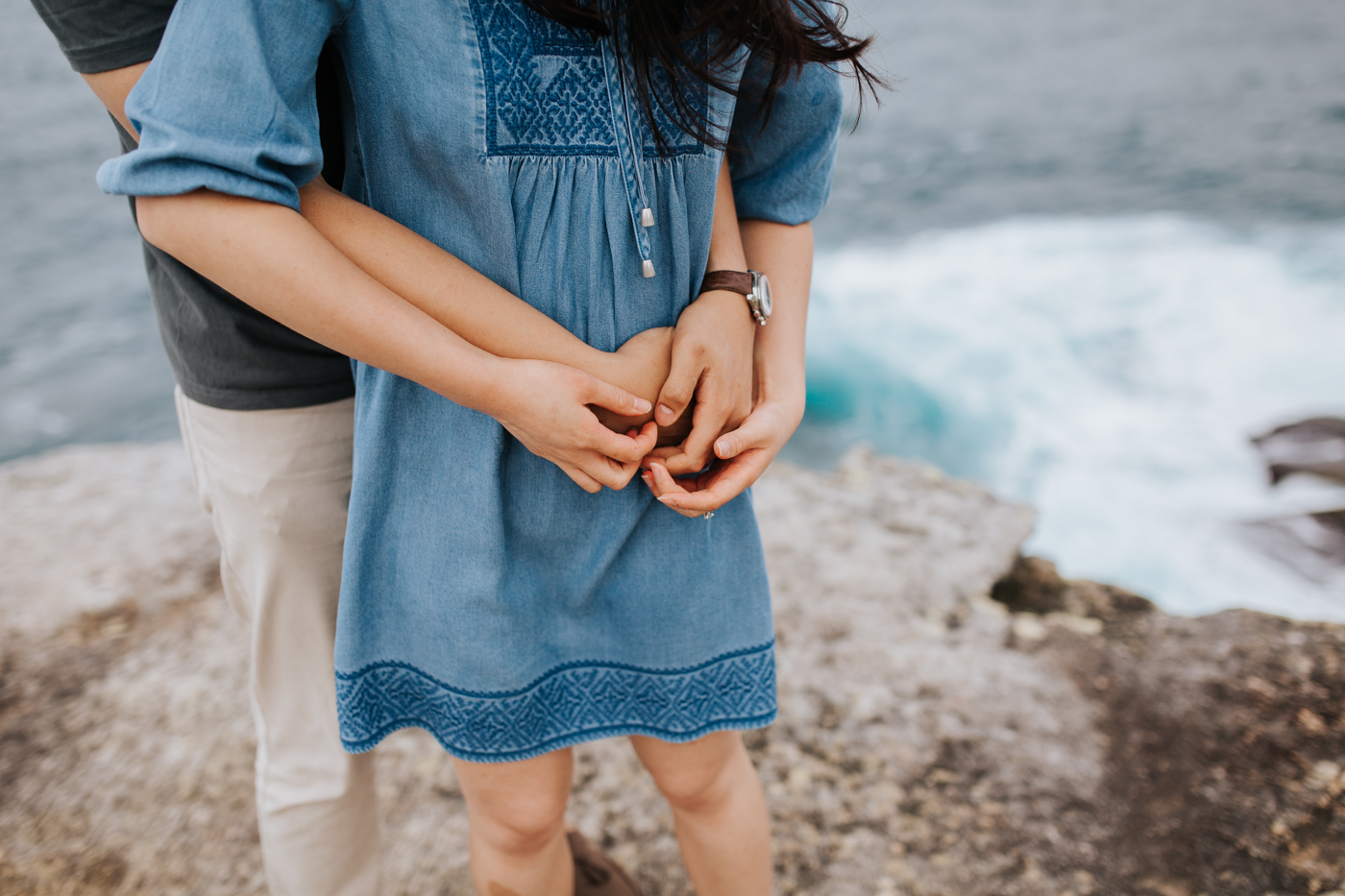 Lishien & Jason Engagement - Kurnell Cliffs - Samantha Heather Photography-30.jpg