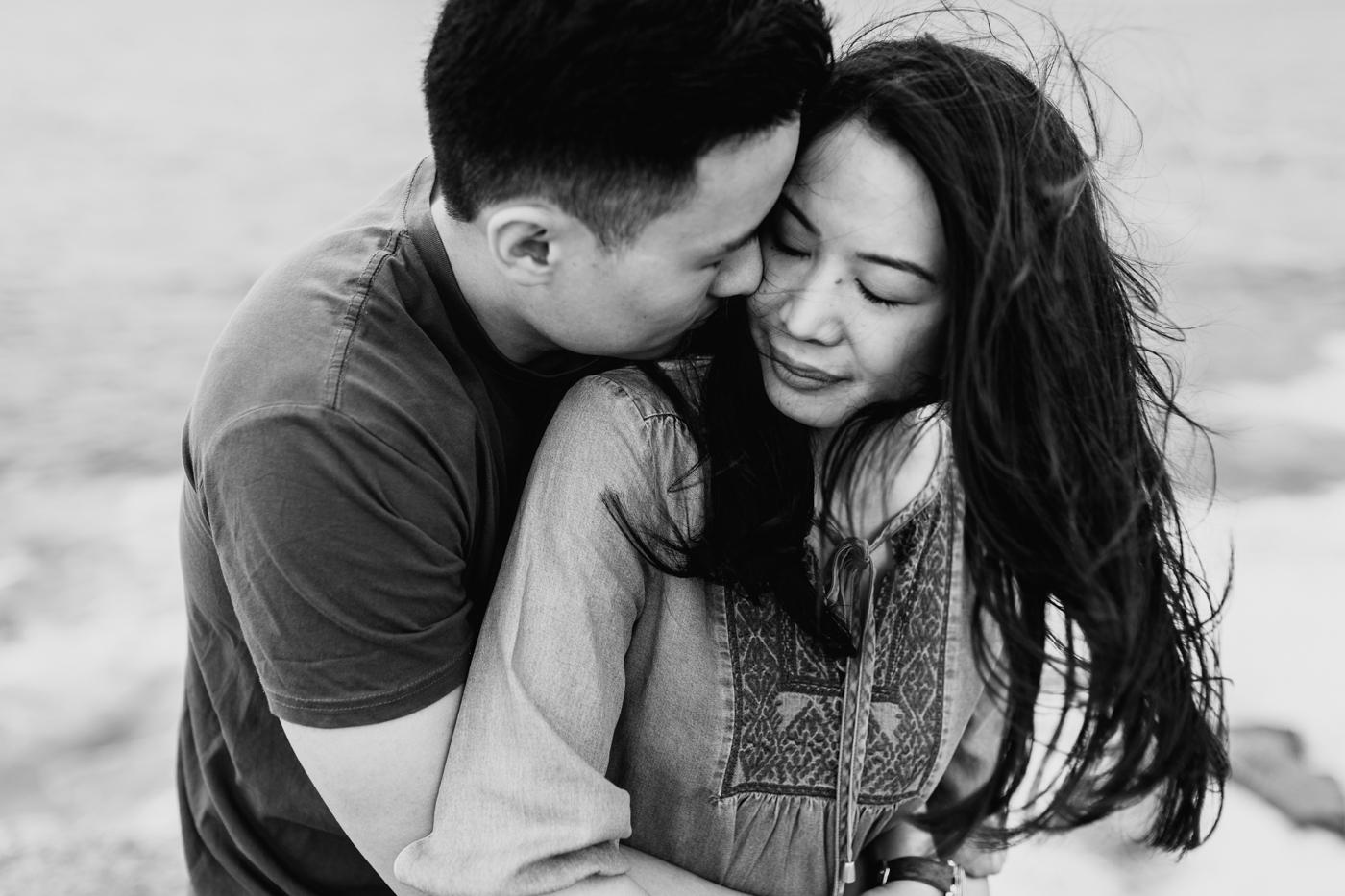 Lishien & Jason Engagement - Kurnell Cliffs - Samantha Heather Photography-33.jpg