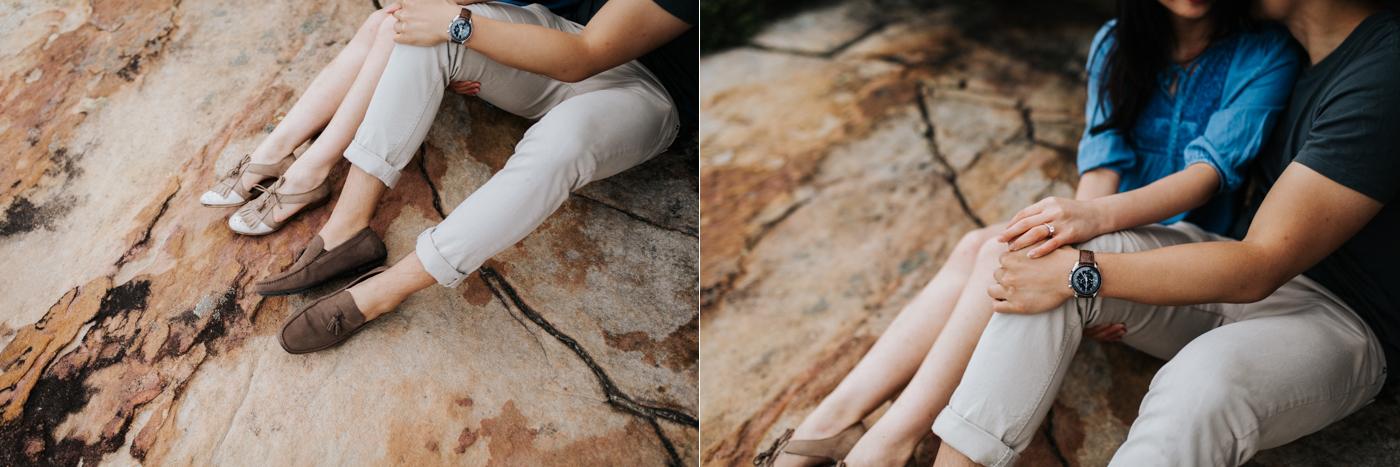 Lishien & Jason Engagement - Kurnell Cliffs - Samantha Heather Photography-40.jpg