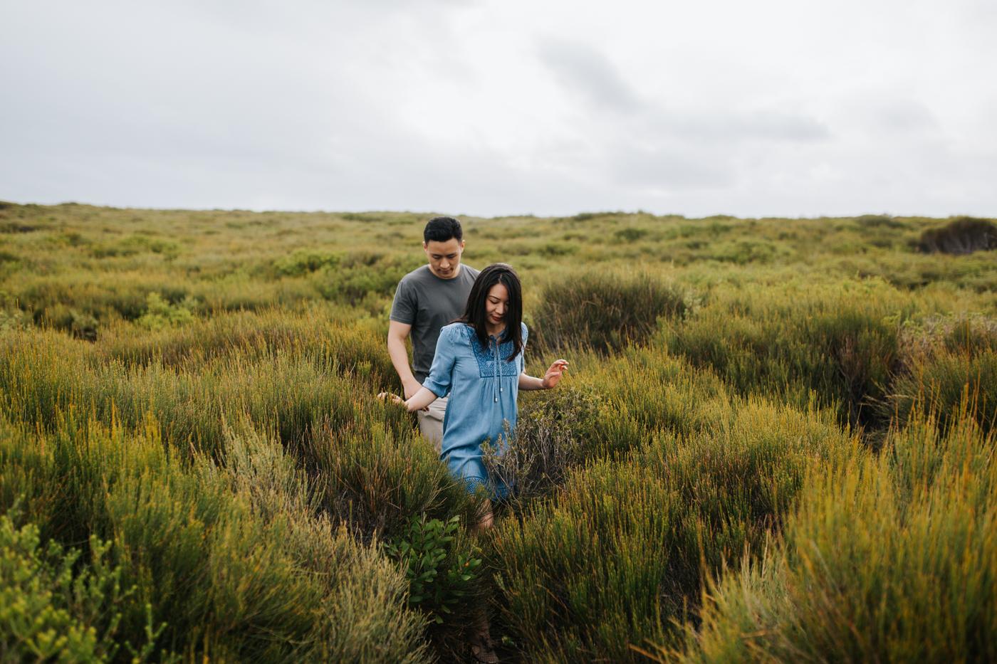 Lishien & Jason Engagement - Kurnell Cliffs - Samantha Heather Photography-54.jpg