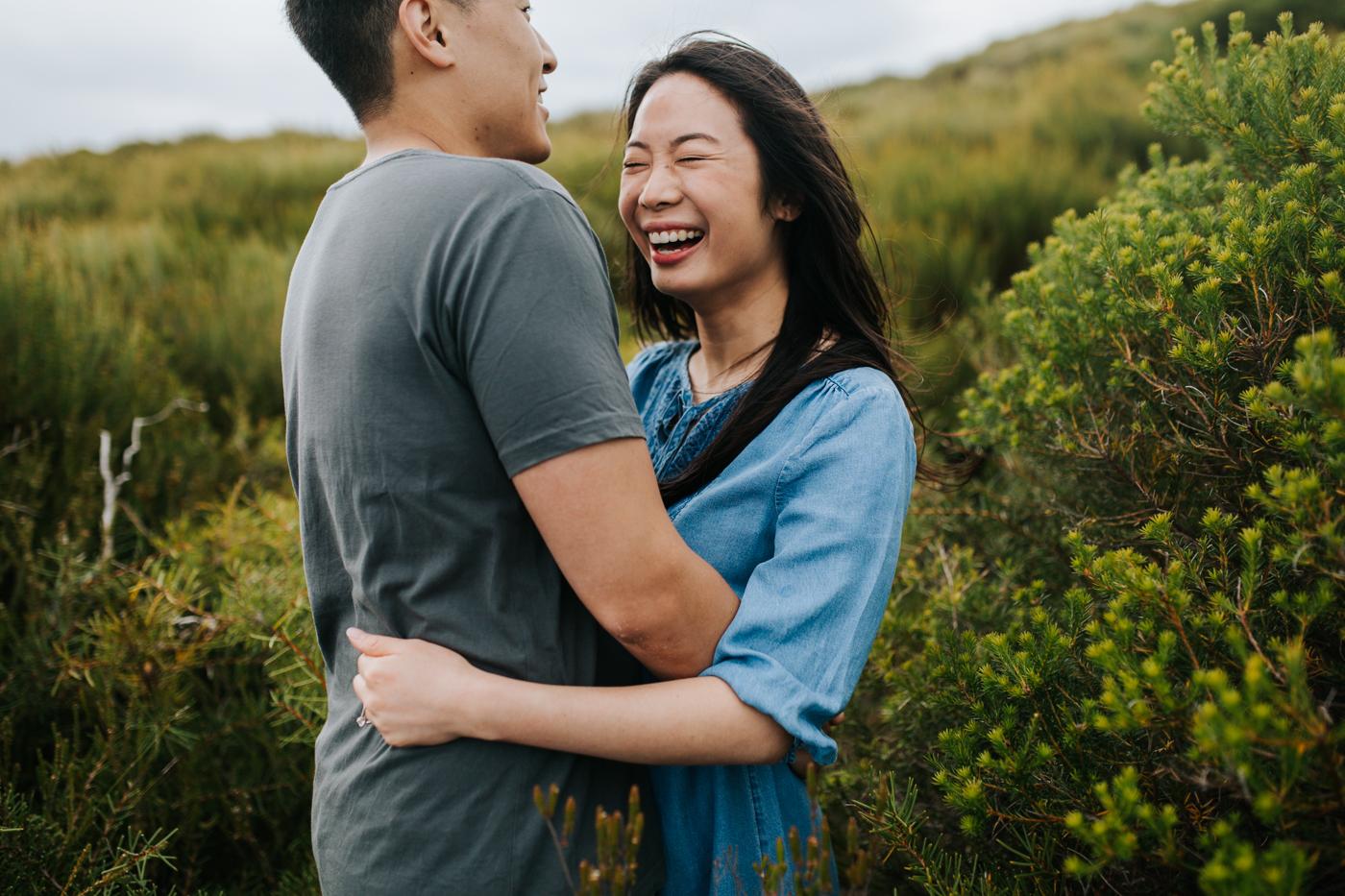 Lishien & Jason Engagement - Kurnell Cliffs - Samantha Heather Photography-56.jpg