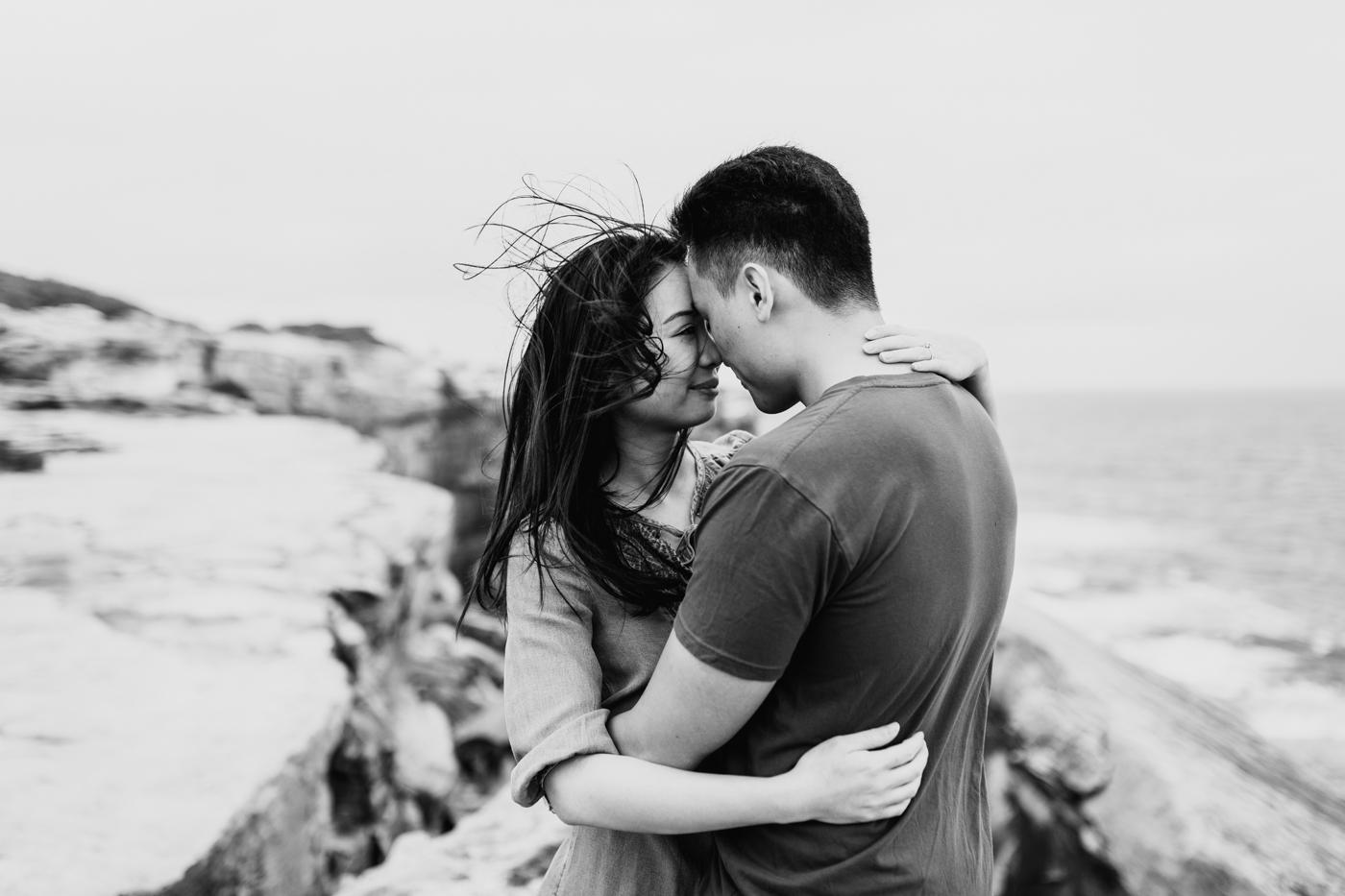 Lishien & Jason Engagement - Kurnell Cliffs - Samantha Heather Photography-60.jpg