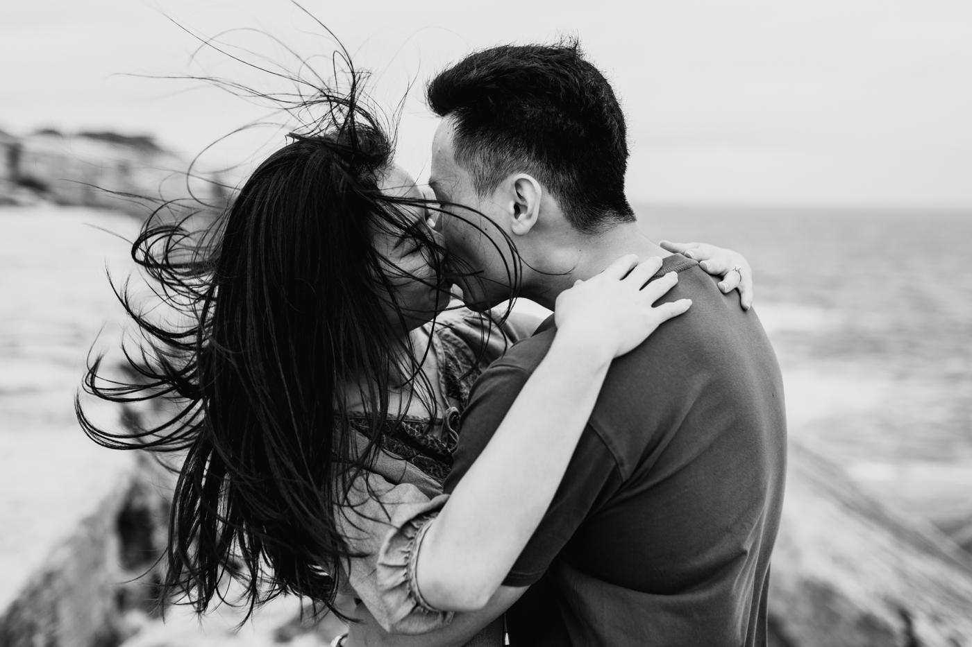 Lishien & Jason Engagement - Kurnell Cliffs - Samantha Heather Photography-64.jpg