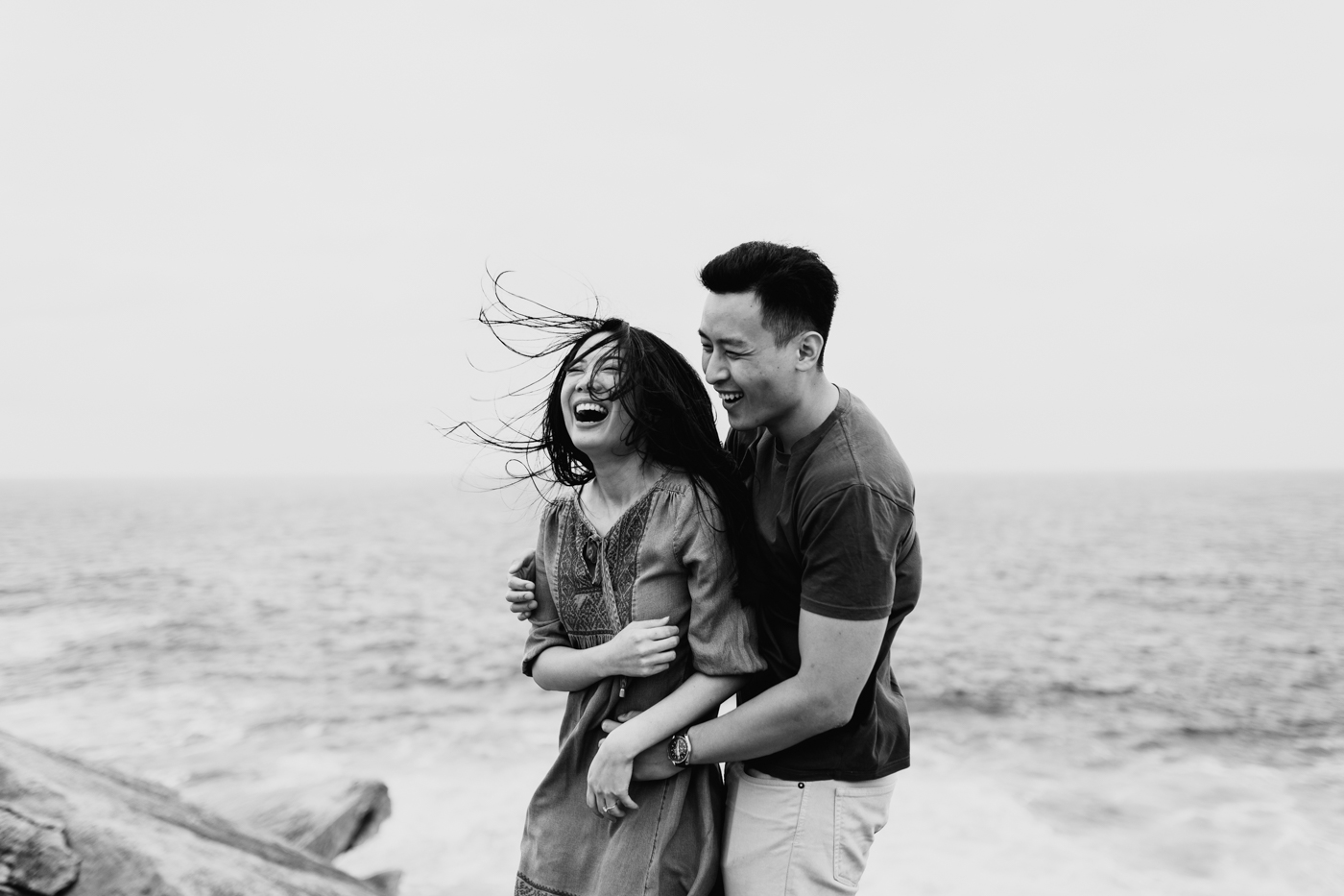 Lishien & Jason Engagement - Kurnell Cliffs - Samantha Heather Photography-68.jpg