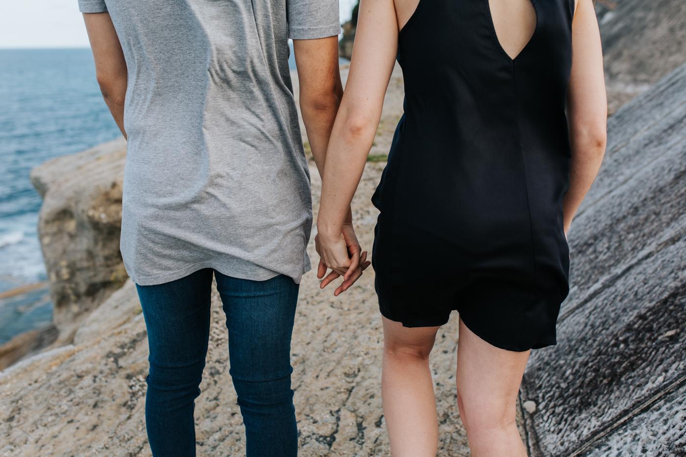 James & Caitie Engagement - Watsons Bay - Samantha Heather Photography-4.jpg