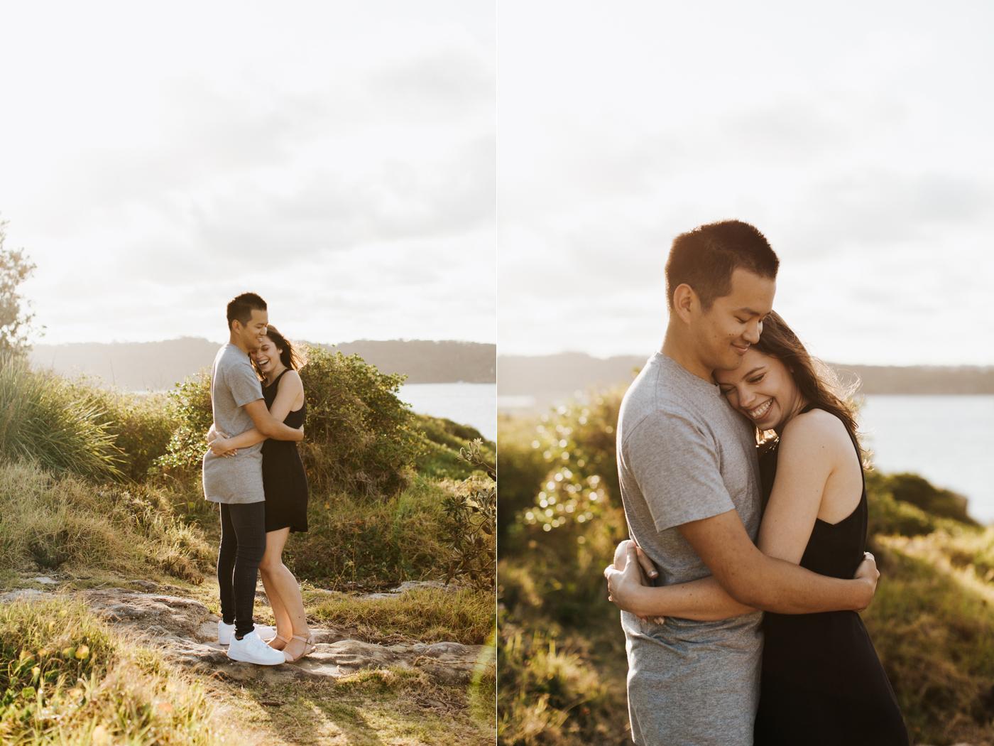 James & Caitie Engagement - Watsons Bay - Samantha Heather Photography-21.jpg