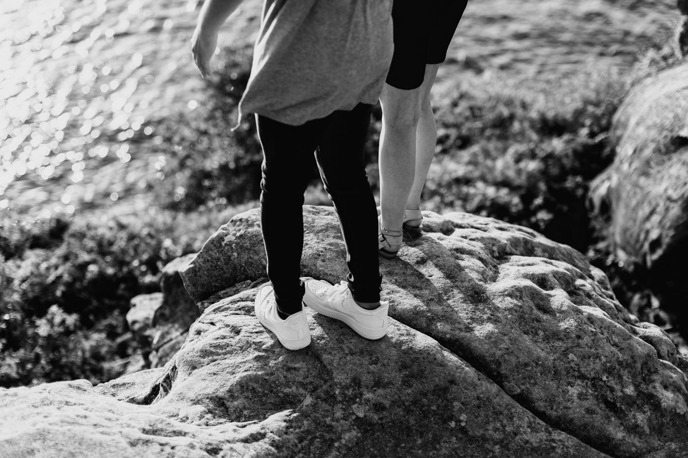 James & Caitie Engagement - Watsons Bay - Samantha Heather Photography-35.jpg