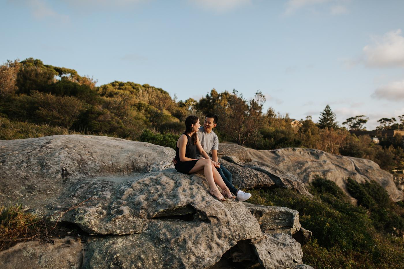 James & Caitie Engagement - Watsons Bay - Samantha Heather Photography-47.jpg