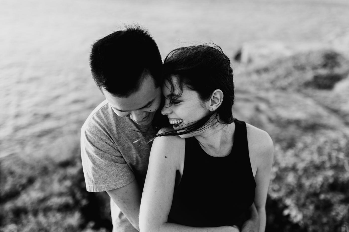 James & Caitie Engagement - Watsons Bay - Samantha Heather Photography-53.jpg