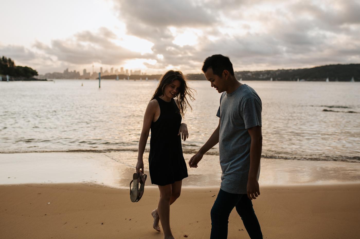James & Caitie Engagement - Watsons Bay - Samantha Heather Photography-59.jpg