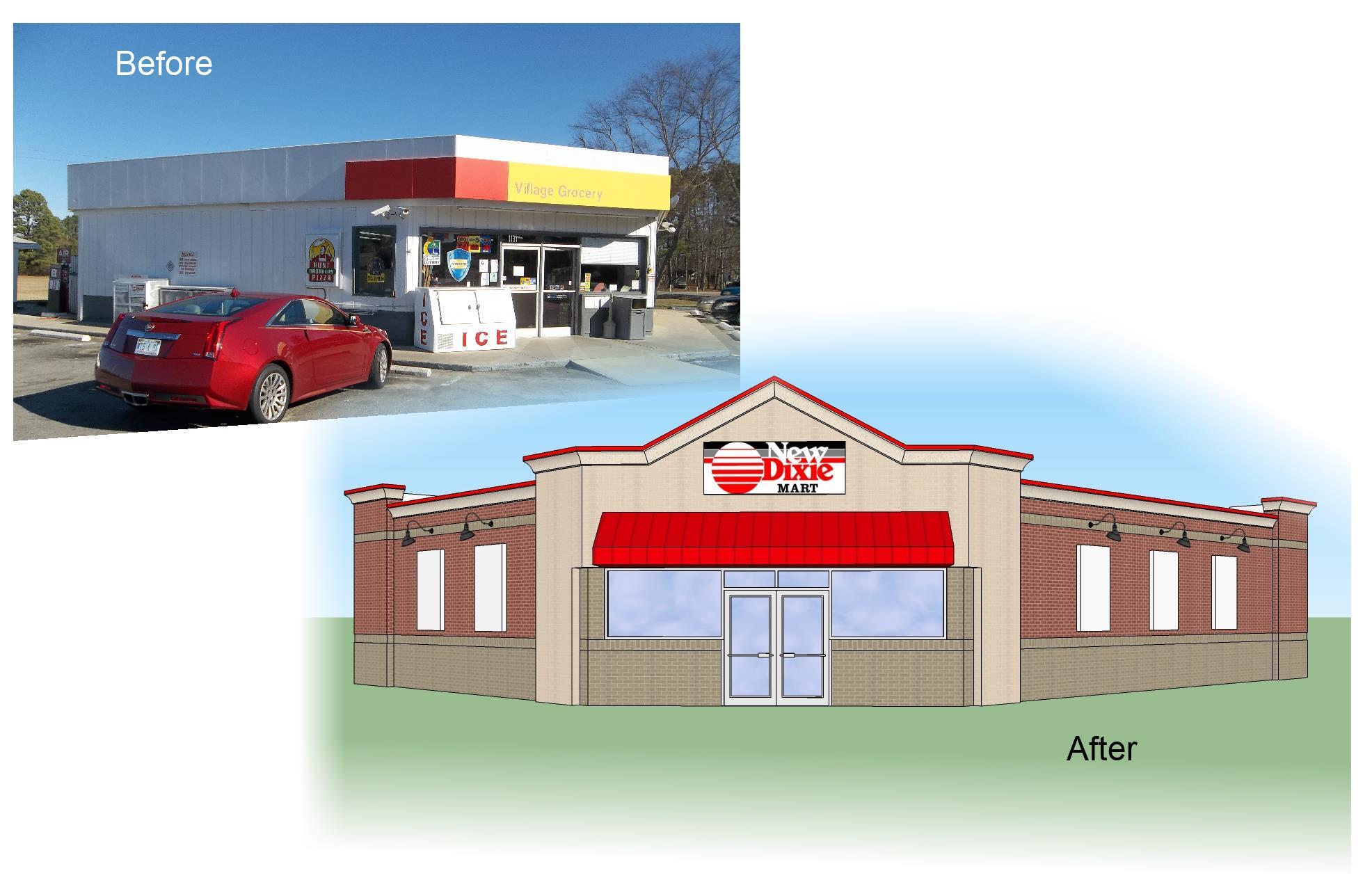 New Dixie Mart #231 -Roanoke Rapids, NC