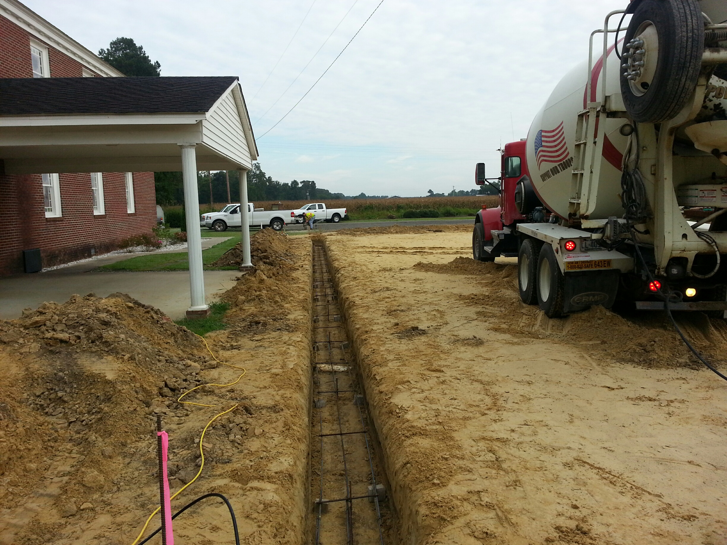 Foundation Placement 2014-09-11