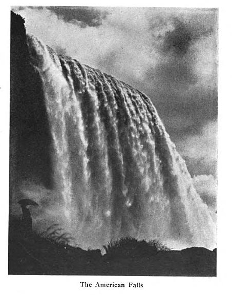 From  The Niagara Falls Electrical Handbook, Being a Guide for Visitors from Abroad Attending the International Electrical Congress, St. Louis, MO, 1904.  Published by the American Institute of Electrical Engineers.