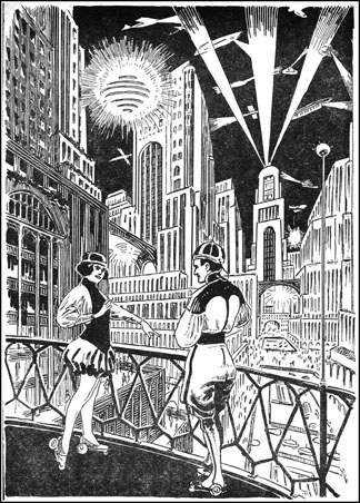 Ralph and Alice explore New York 2660 on tele-motor-coasters.