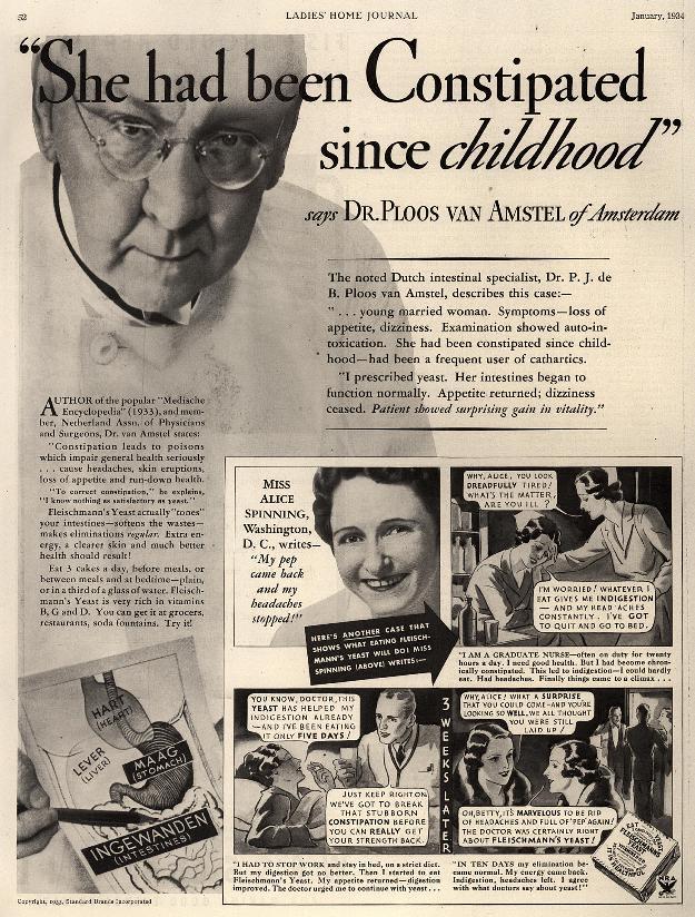 From Ladies Home Journal, 1934. Image courtesy Duke University Hartman Center for Sales, Advertising & Marketing History.