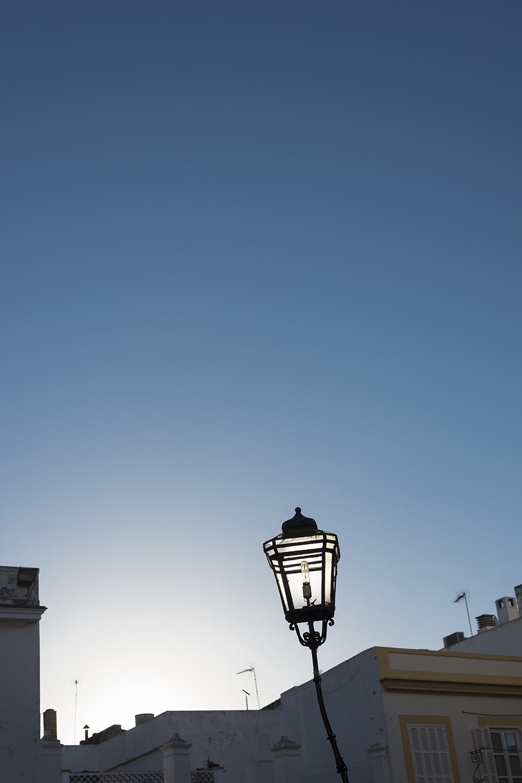 energy efficiency street light in Santa Maria del Puerto, Spain