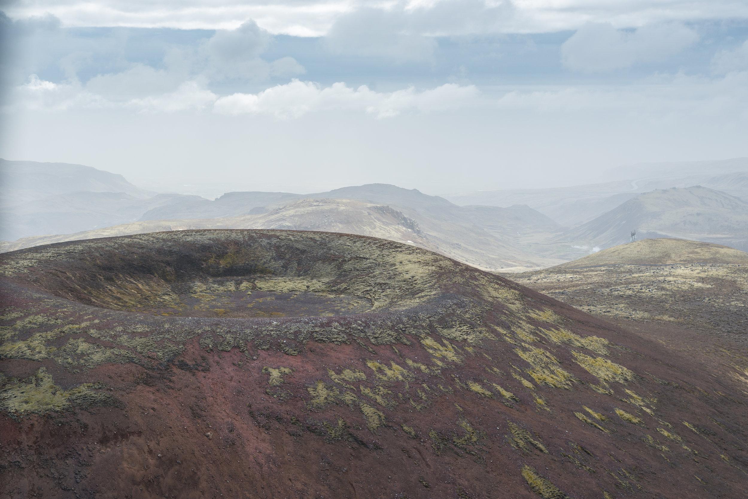 Grafningshreppur, volcan, Iceland
