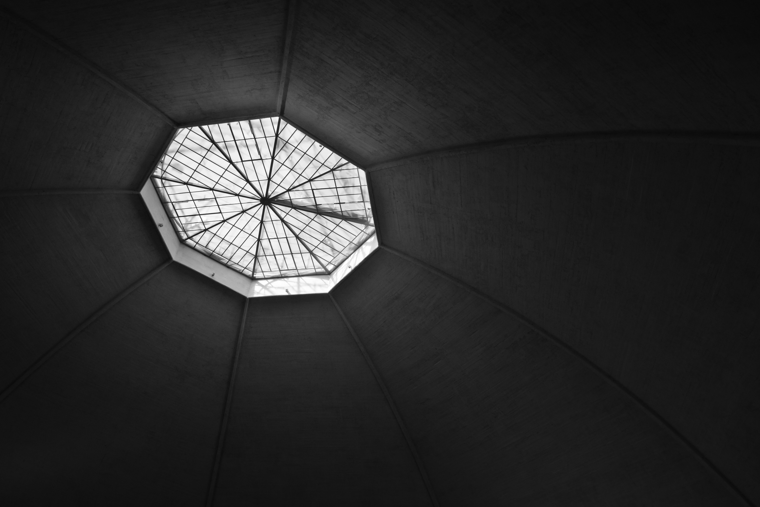 Roof of the old market hall in Basel, Switzerland 2013