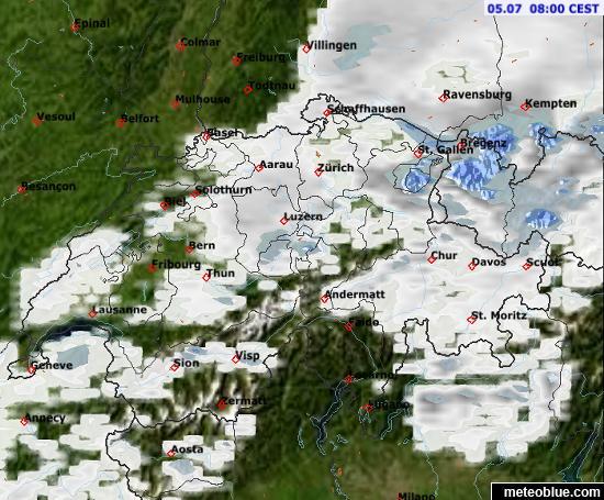 original live satellite image