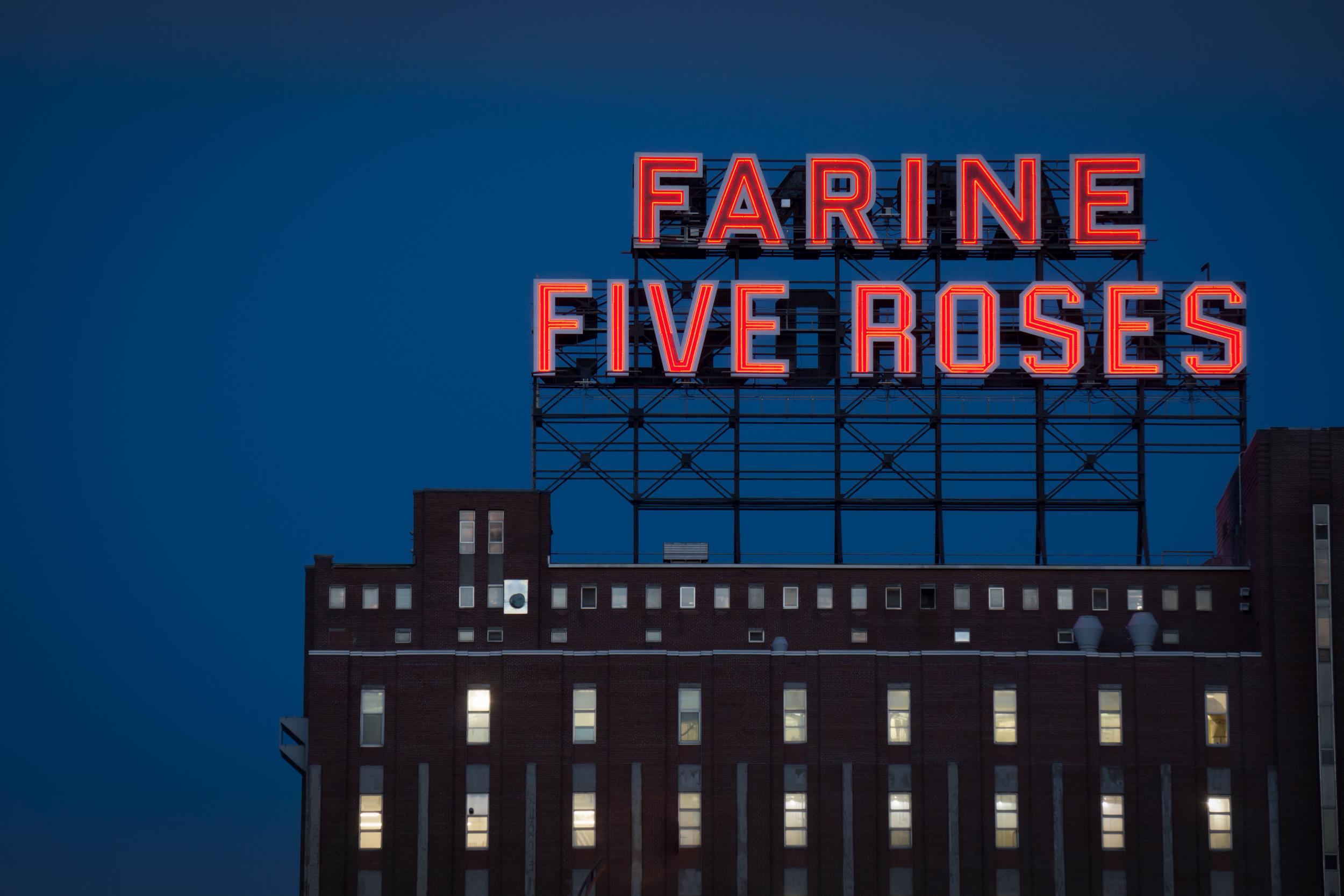 Five Roses Factory in Montréal, QC